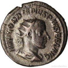 Monedas Imperio Romano: MONEDA, GORDIAN III, ANTONINIANUS, 243-244, ROME, MBC+, VELLÓN, RIC:140. Lote 207291623