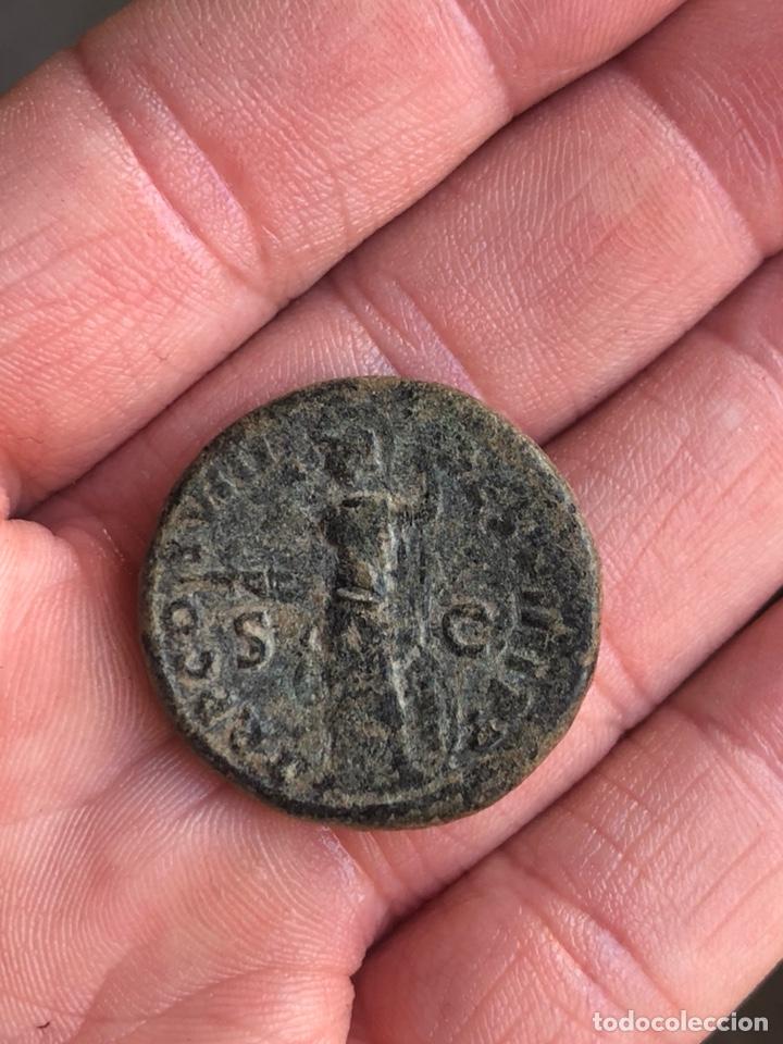 Monedas Imperio Romano: Dupondio de domiciano EBC - Foto 2 - 207604618