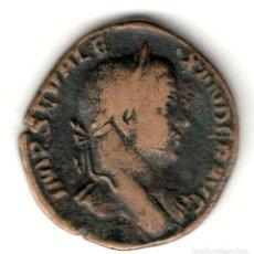 Monedas Imperio Romano: IMPERIO ROMANO SESTERCIO DE BRONCE ALEJANDRO SEVERO 222-231 REV: IVSTTIA AVGVSTI. Lote 209042377