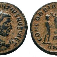 Monedas Imperio Romano: CONSTANTIUS (286-305 AD). AE ANTONINIANUS 3,34 GR DIAMETRO 19,75 MM. Lote 210445538