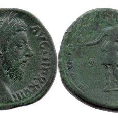 Monedas Imperio Romano: MARCO AURELIO (AD 161-180). AE SESTERTIUS : M ANTONINVS-AVG TR P XXVIII,26,94 GR 32 MM. Lote 210445781