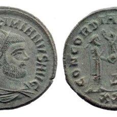 Monedas Imperio Romano: MAXIMIANO PRIMER REINADO, AD 286-305. ANTONINIANUS AE RIC V 607 4,42 GR. 23 MM. Lote 210446365