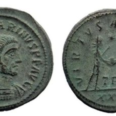 Monedas Imperio Romano: CARINUS AD 283-285. AE ANTONINIANUS TRIPOLIS AD 284. RIC 329 4,48 GR. 22 MM. Lote 210446472