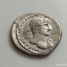 Monedas Imperio Romano: HADRIANO 117-138. DENARIO. ANV:IMP.CAESAR.TRAIANUS. HADRIANUS.AUG. ADRIANO A LA DCHA.3.29G. Lote 210455752
