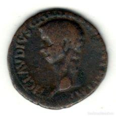 Monedas Imperio Romano: IMPERIO ROMANO AS DE BRONCE CLAUDIO AÑO 41-42 D.C. LIBERTAS AVGVSTA. Lote 211595551
