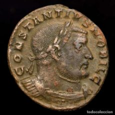 Monedas Imperio Romano: CONSTANCIO I - CAESAR. AE FOLLIS, TRIER. GENIO POPVLI ROMANI / IITR. Lote 211910790
