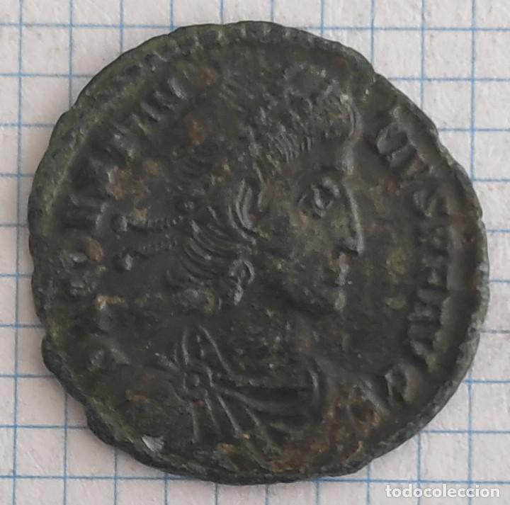 AE3 EMPERADOR CONSTANCIO II 351-355 D.C. (Numismática - Periodo Antiguo - Roma Imperio)