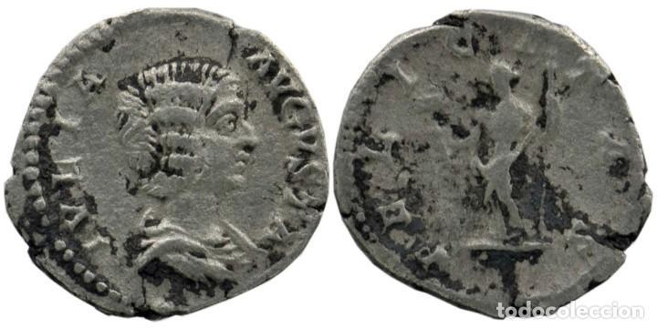 JULIA DOMNA (MUJER DE SEVERO) AR DENARIUS. DENARIO. ROMA 196-211 2,60 GR. 19 MM. MBC+/MBC (Numismática - Periodo Antiguo - Roma Imperio)