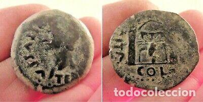 RARO AS ROMANO AUGUSTO (Numismática - Periodo Antiguo - Roma Imperio)
