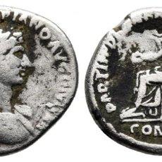 Monete Impero Romano: ADRIANO 117-138. ROMA DENARIO AR 18 MM., 2,99 G. MBC+. Lote 213367460