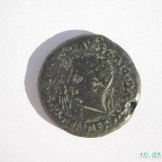 Monedas Imperio Romano: MUY RARO DUPONDIO DE ITALICA DE AUGUSTO Y LIVIA.. Lote 214692098