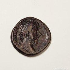 Monedas Imperio Romano: SEXTERCIO ROMANO DEL EMPERADOR MARCO AURELIO MUY BUEN ESTADO DE CONSERVACION. Lote 216353735