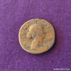Monedas Imperio Romano: SESTERCIO DE FAUSTINA HIJA. 147 -175 D.C. MADRE DE COMODO. ESPOSA DE MARCO AURELIO. ORIGINAL.. Lote 217518826