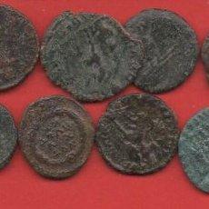 Moedas Império Romano: 10 MONEDAS ROMANAS, LEER DESCRIPCIÓN. Lote 217588350