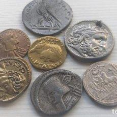 Monedas Imperio Romano: LOTE MONEDAS ROMANAS Y GRIEGAS. Lote 217697068