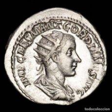 Monedas Imperio Romano: IMPERIO ROMANO - GORDIANO III. ANTONINIANO. PLATA. PAX AVGVSTI*. Lote 218137408