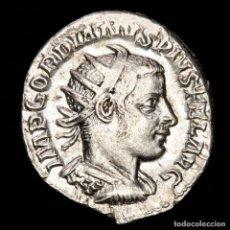 Monedas Imperio Romano: GORDIANO III. ANTONINIANO. PLATA. MARTI PACIFERO MARTE. EBC. RETRATO. Lote 218138146