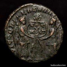 Monedas Imperio Romano: MAGNENCIO - Æ MAIORINA VICT DD NN AVG ET CAES - ? (CHI-RHO) CRISMON. Lote 218127837