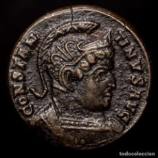 Monedas Imperio Romano: CONSTANTINO I Æ FOLLIS TRIER - BEATA TRANQVILLITAS / •PTR• (16526). Lote 218139933