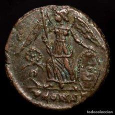 Monedas Imperio Romano: CONSTANTINOPOLIS. Æ FOLLIS CONMEMORATIVO. ARLES. CORONA EN CAMPO. Lote 218144826