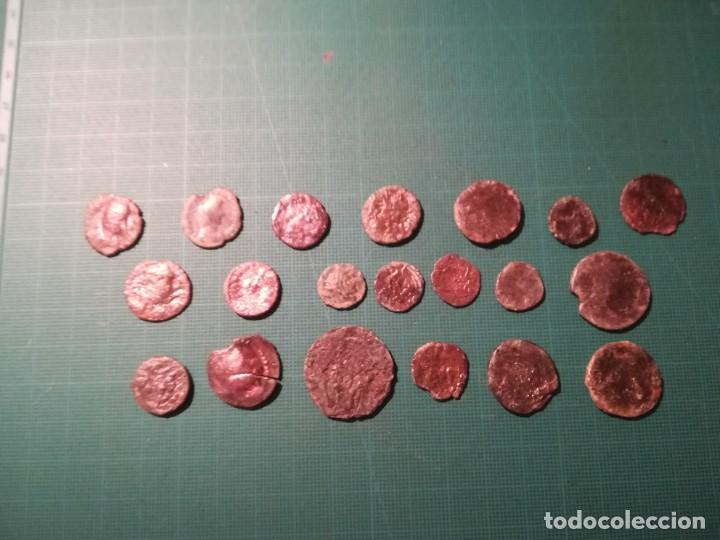 LOTE DE 20 MONEDAS ROMANAS A IDENTIFICAR (DIFERENTES CONSERVACIONES) (Numismática - Periodo Antiguo - Roma Imperio)