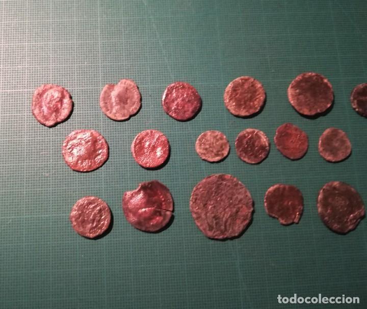 Monedas Imperio Romano: Lote de 20 monedas romanas a identificar (diferentes conservaciones) - Foto 3 - 236983285
