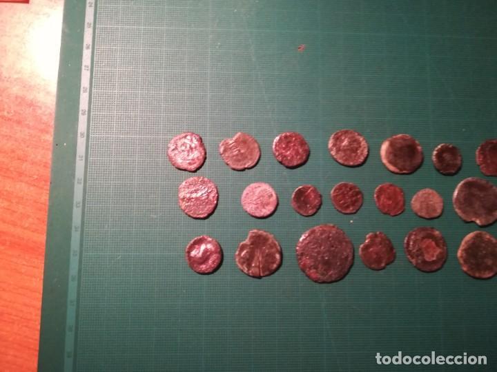 Monedas Imperio Romano: Lote de 20 monedas romanas a identificar (diferentes conservaciones) - Foto 6 - 236983285