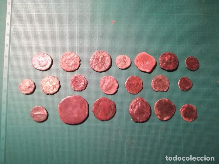 LOTE DE 20 MONEDAS ROMANAS A IDENTIFICAR (DIFERENTES CONSERVACIONES) - II (Numismática - Periodo Antiguo - Roma Imperio)