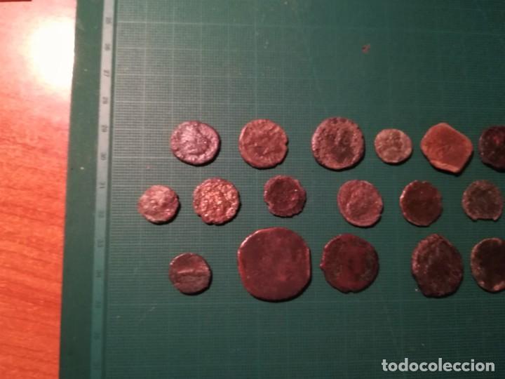 Monedas Imperio Romano: Lote de 20 monedas romanas a identificar (diferentes conservaciones) - II - Foto 3 - 218534802