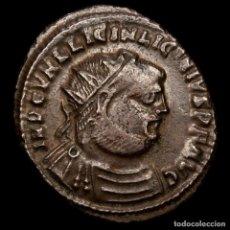 Monedas Imperio Romano: LICINIO Æ FOLLIS IOVI CONSERVATORI AVGG - XIIΓ // SMHB HERACLEA. Lote 219219027