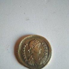Monedas Imperio Romano: MONEDA ROMANA DE ORO, SÓLIDO DE ARCADIO,CONOB EN EL EXERGO.COSTANTINOPLA. Lote 220594925