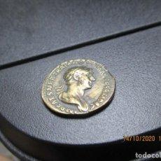Monete Impero Romano: DENARIO TRAJANO CON 2 BUSTOS. Lote 220916491