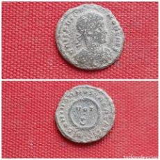Monedas Imperio Romano:  AE3 DE CRISPO. DOMINOR NOSTROR CAESS / VOT X. TICINO. Lote 222073287
