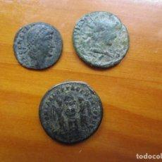 Monedas Imperio Romano: LOTE - 3 MONEDAS ROMANAS. Lote 222244635