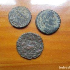 Monedas Imperio Romano: LOTE - 3 MONEDAS ROMANAS. Lote 222244678