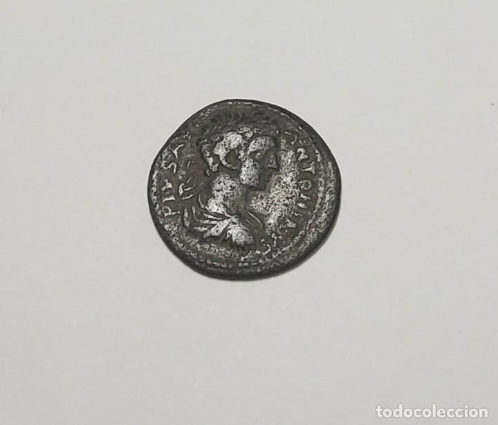 AS ROMANO DEL EMPERADOR CARACALLA DE ANTIOQUIA. MUY BUEN ESTADO DE CONSERVACION (Numismática - Periodo Antiguo - Roma Imperio)