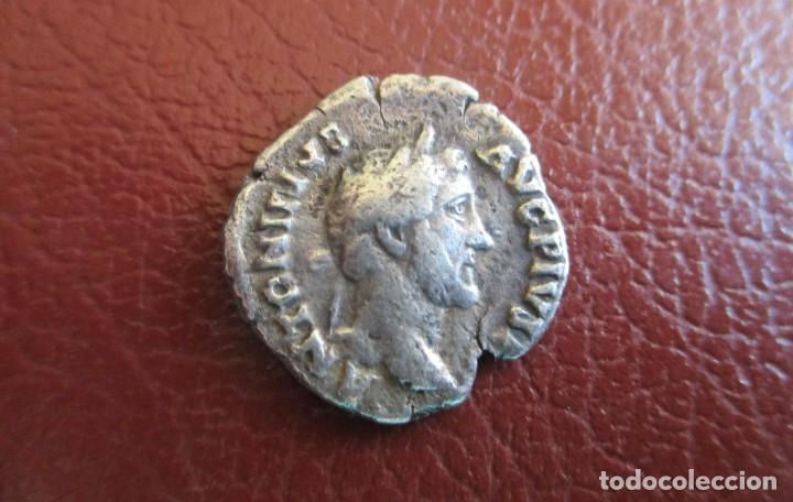 ROMA , DENARIO DE ANTONINO PIO (Numismática - Periodo Antiguo - Roma Imperio)