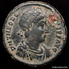 Monedas Imperio Romano: TEODOSIO I (379-395) MAYORINA. ANTIOQUÍA. REPARATIO REI PVB /ANT?. Lote 222693532