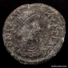 Monedas Imperio Romano: GRACIANO N INVERTIDA ?21, ESTILO BÁRBARO. ARLES. REPARATIO REIPVB. Lote 222700141