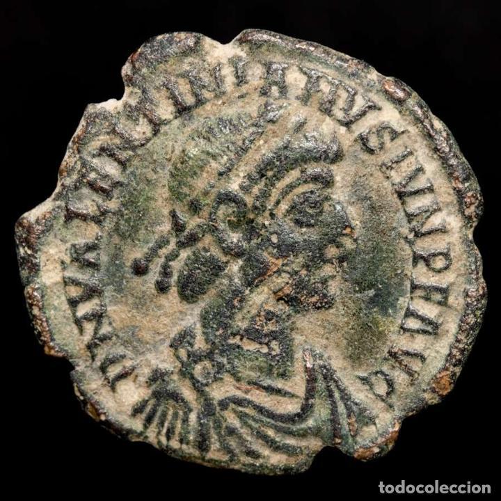 VALENTINIANO II (375-392 DC), MAIORINA, AQUILEIA. REPARATIO REIPVB (Numismática - Periodo Antiguo - Roma Imperio)