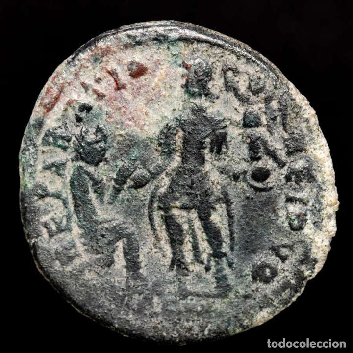 Monedas Imperio Romano: Graciano ( 378-383 dC ), Maiorina. Arles. REPARATIO REIPVB//.CON - Foto 2 - 222701578