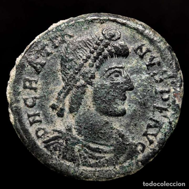 GRACIANO ( 378-383 DC ), MAIORINA. ARLES. REPARATIO REIPVB//.CON (Numismática - Periodo Antiguo - Roma Imperio)
