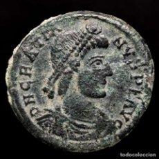 Monedas Imperio Romano: GRACIANO ( 378-383 DC ), MAIORINA. ARLES. REPARATIO REIPVB//.CON. Lote 222701578