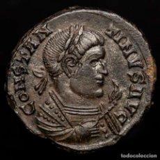 Monedas Imperio Romano: CONSTANTINO I (307-337) Æ FOLLIS. BEATA TRANQVILLITAS // PTR TRIER. Lote 222701913