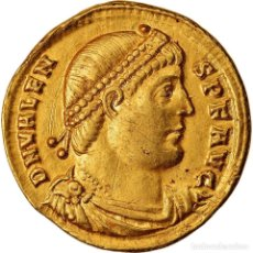 Monedas Imperio Romano: MONEDA, VALENS, SOLIDUS, 364-367, ARLES, RARE, MBC+, ORO, COHEN:32. Lote 222850807