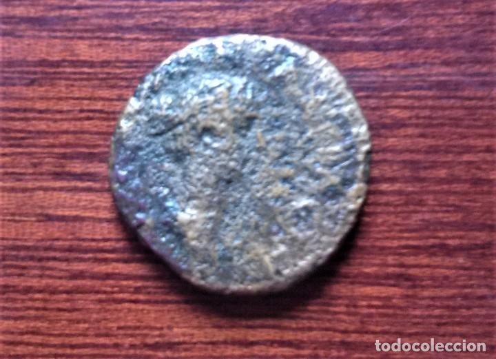 MONEDA ROMANA FAUSTINA II - SIGLO II (Numismática - Periodo Antiguo - Roma Imperio)