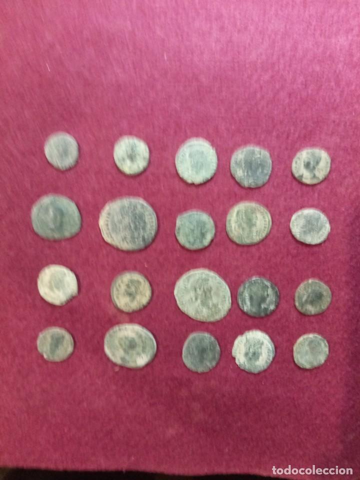 LOTE DE 20 MONEDAS ROMANAS (Numismática - Periodo Antiguo - Roma Imperio)