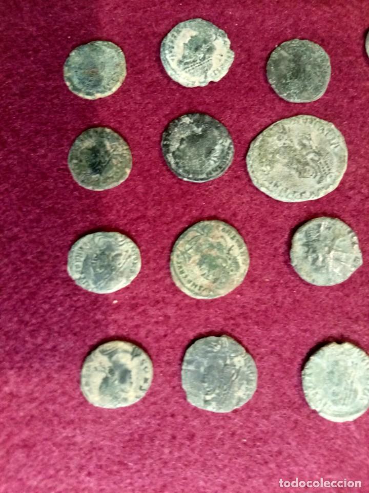 Monedas Imperio Romano: Lote de 20 monedas romanas - Foto 3 - 225073128