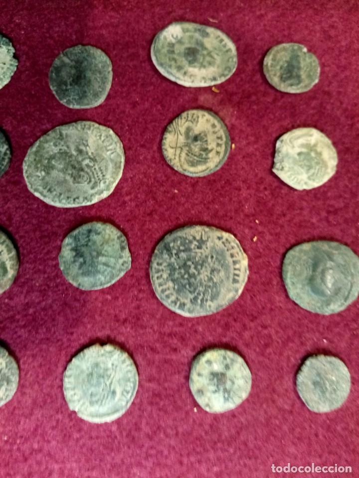 Monedas Imperio Romano: Lote de 20 monedas romanas - Foto 4 - 225073128