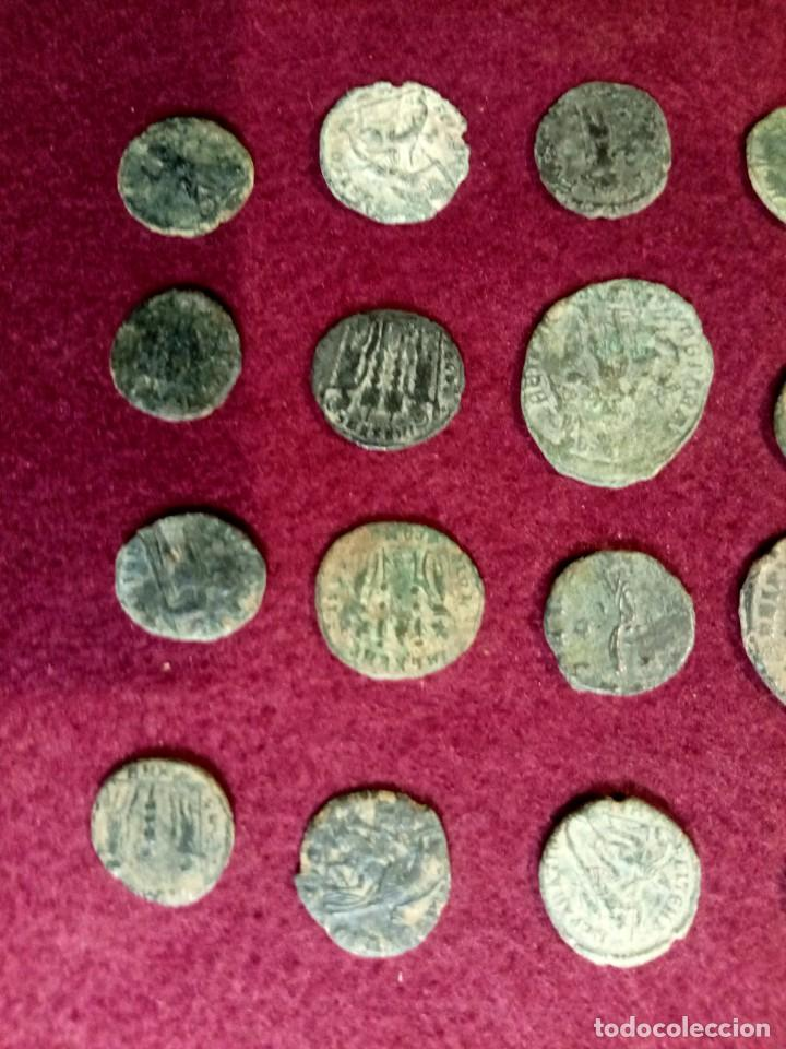 Monedas Imperio Romano: Lote de 20 monedas romanas - Foto 5 - 225073128